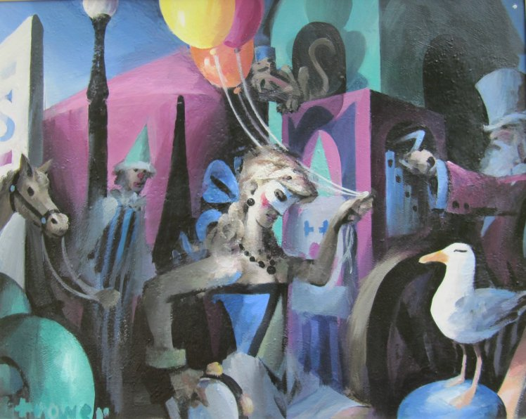 Circus by Barry Trower.