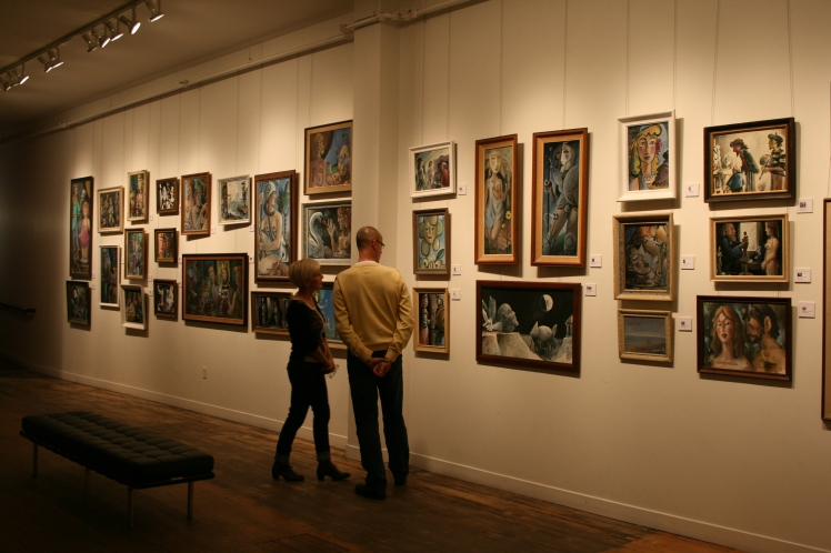 "Photo from ""A Survey of Paintings: Tim Cosens and Barry Trower"" (December 14, 2012)."