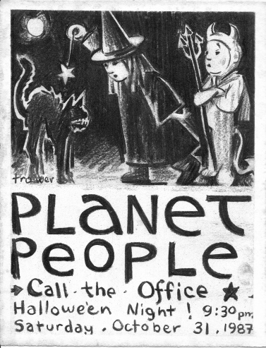 Planet People: Hallowe'en by Barry Trower.