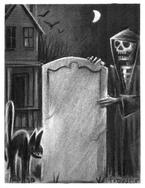Picture for Hallowe'en by Barry Trower.