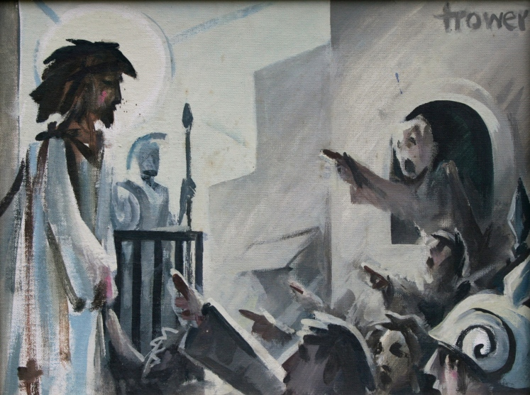 Ecce Homo by Barry Trower