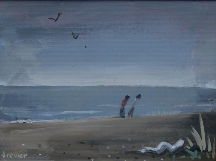 Windy Beach by Barry Trower (1985).