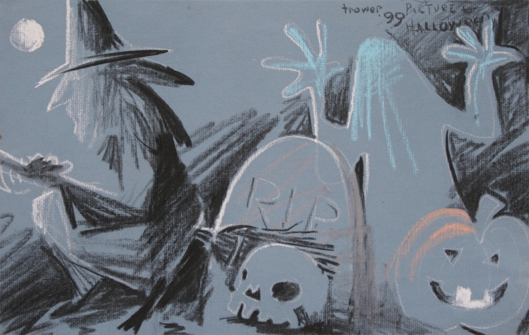 Picture for Hallowe'en by Barry Trower (1999).