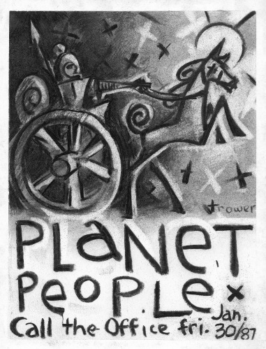 "Planet People- ""Chariot"" by Barry Trower (1987)."