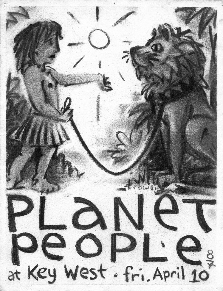 "Planet People - ""Lion Tamer"" by Barry Trower (1987)."