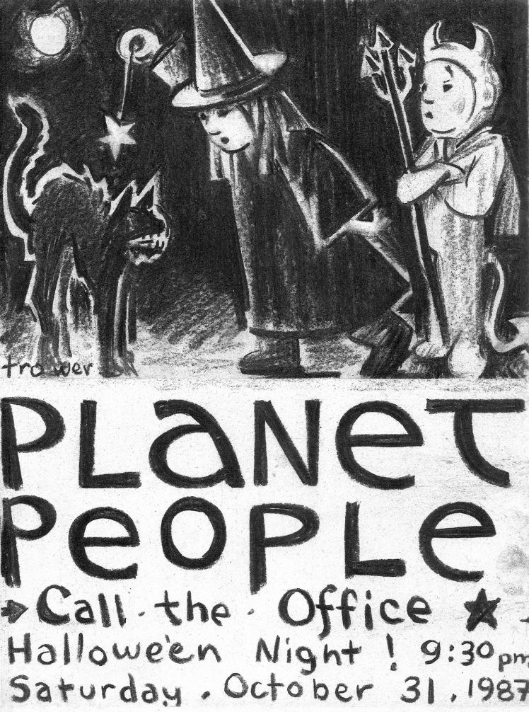 Planet People Hallowe'en by Barry Trower (1987).