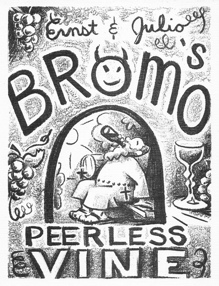 Bromo's Peerless Vine by Barry Trower.