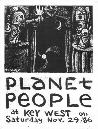 "Planet People ""Proscenium"" by Barry Trower (1986)"