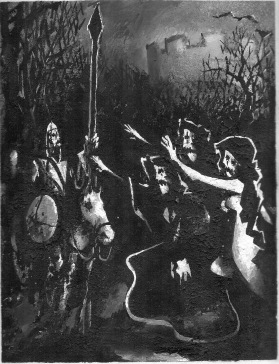 Macbeth and the Witches by Barry Trower (1985).