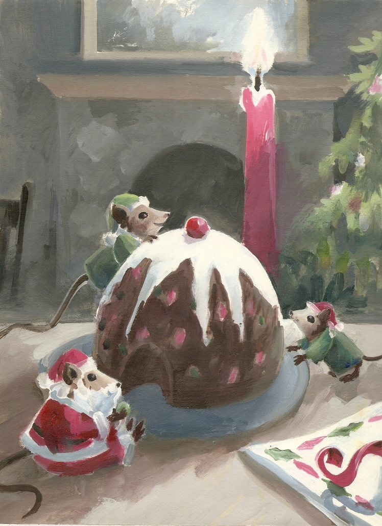 Christmas Pudding by Barry Trower.