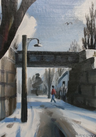 Gunn St. Winter by Barry Trower (1986).