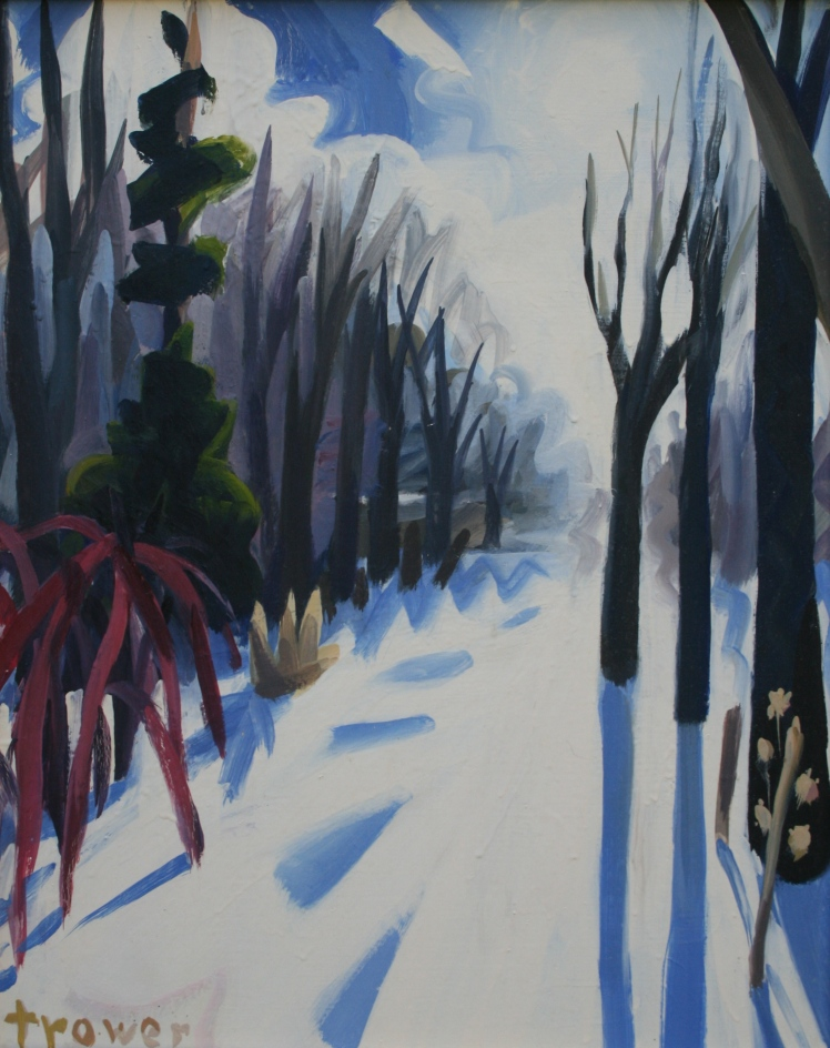 Winter Walk by Barry Trower (1988).