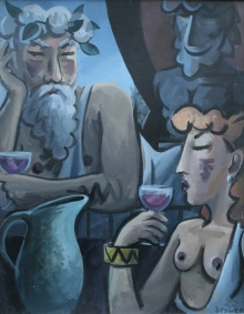 Wine Drinkers by Barry Trower (1994).