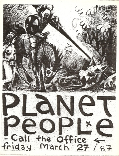 Planet People, St. George and the Dragon by Barry Trower.
