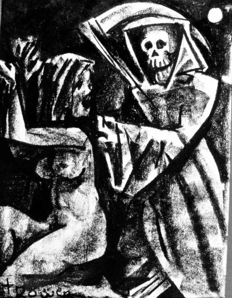 Death and the Maiden by Barry Trower (1985).