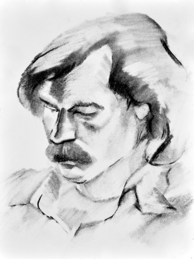 Portrait of a Man by Barry Trower (1978).
