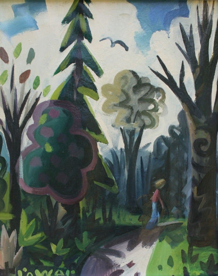 Through the Woods, Autumn by Barry Trower (1988).