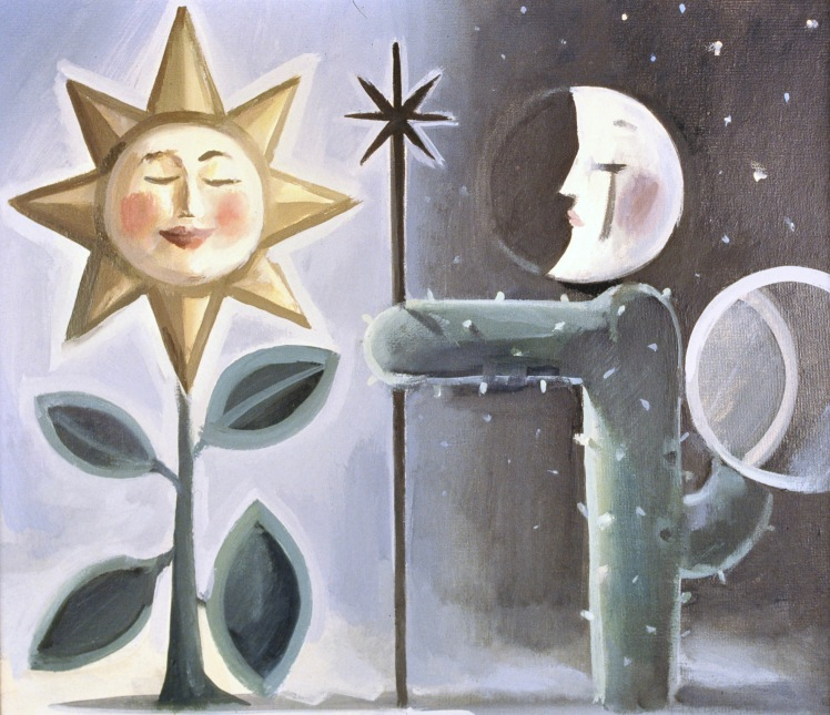 Sun and Moon by Barry Trower (1991).