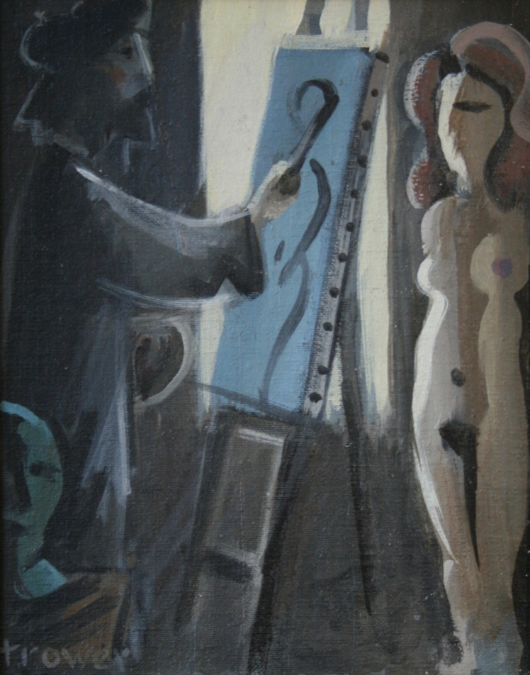 Painter and Model by Barry Trower (1985).